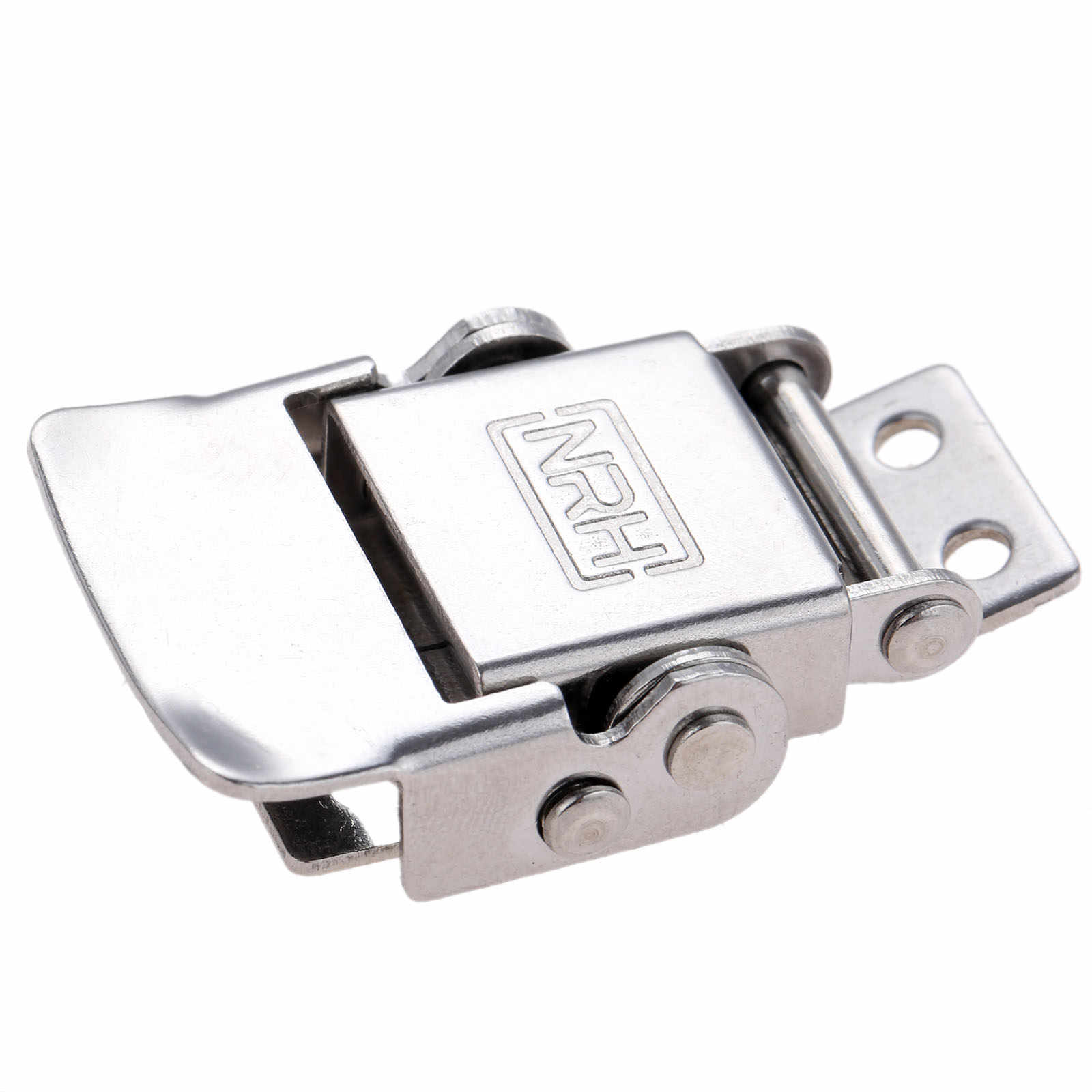 Nologo Durable Practical 2X Stainless Steel Metal Spring Suitcase Chest Toggle Locking Latch Catch Clasp Hasp
