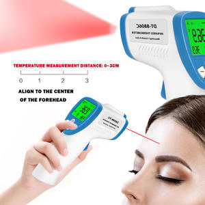 Infrared Digital-Thermometer Forehead Non-Contact Adult with Lcd-Backlight Baby Infant