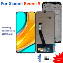 Original For Xiaomi Redmi 9 LCD Display Touch Screen Digitizer Assembly Repair Phone Parts For Xiaomi Redmi 9 LCD Display Screen