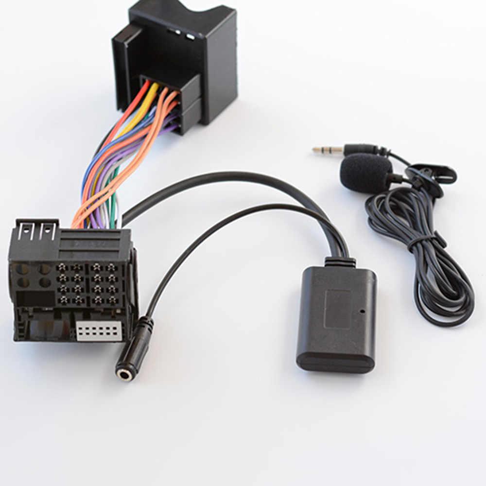 Auto Bluetooth Audio Cavo Adattatore MICROFONO Per Mercedes-Benz W169 W245 W203 W209 W164 X164 W251 W221 R230 APS NTG CD20 30/50 Radio