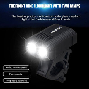 Image 2 - Waterproof USB Rechargeable Bike Light 5 Light Modes MTB Cycling Light Built In Battery Bicycle Lamp for Safety Night Cycling