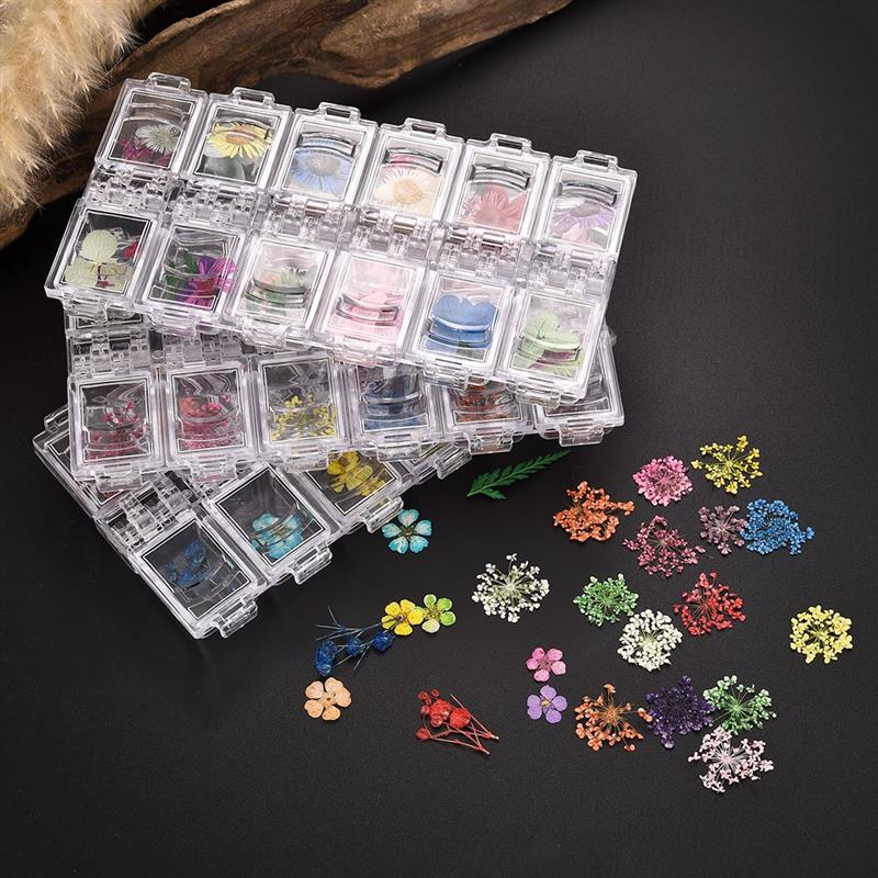 Pressed Dried Flower Dry Plants For Epoxy UV Resin Pendant Necklace Jewelry Making Craft DIY Nail Art Decoration Accessories