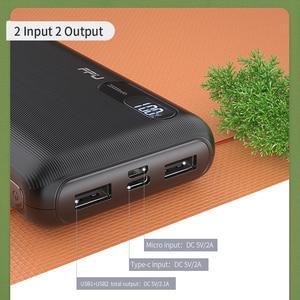Image 4 - باور بانك FPU بسعة 20000 مللي أمبير في الساعة محمول لشحن الهاتف المحمول باور بانك بسعة 20000 مللي أمبير في الساعة مزود ببطارية خارجية لهاتف شاومي mi