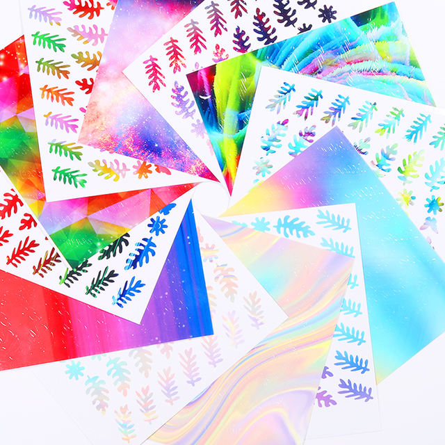 1 Sheet 3D Nail Stickers
