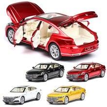 1:32 volkswagen-cc arteon modelo de carro liga carro de brinquedo fundido modelo de carro puxar para trás brinquedo das crianças collectibles frete grátis