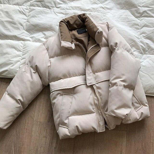 2020 femmes épais hiver manteau col montant femmes veste manteau surdimensionné manteau ample vêtements d'extérieur femme Casaco Feminino Parkas 2