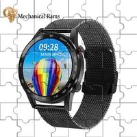 Reloj inteligente ECG para hombre y mujer, pulsera deportiva con llamadas, Bluetooth, para ios, Xiaomi, Huawei, pk, amzafit, gts, gtr 2, 2021
