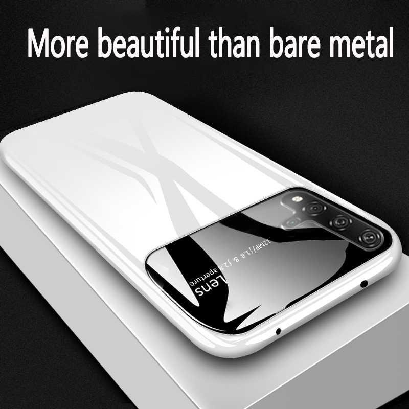 פלסטיק מעטפת עבור Huawei P20 30 40 פרו p20 30 40 לייט יוקרה מקרה mate 20 30pro דק אנטי-סתיו כיסוי 360 שמסביב פגז