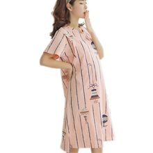 Woman Dress Pregnancy-Ddresses Breastfeeding-Clothes Casuales Summer for Vestidos