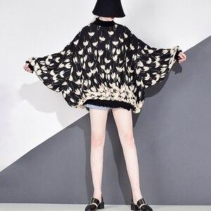 Image 5 - XITAO 쉬폰 인쇄 패턴 블라우스 패션 새로운 여성 2020 봄 풀 슬리브 풀오버 우아한 소수 캐주얼 셔츠 GCC3233