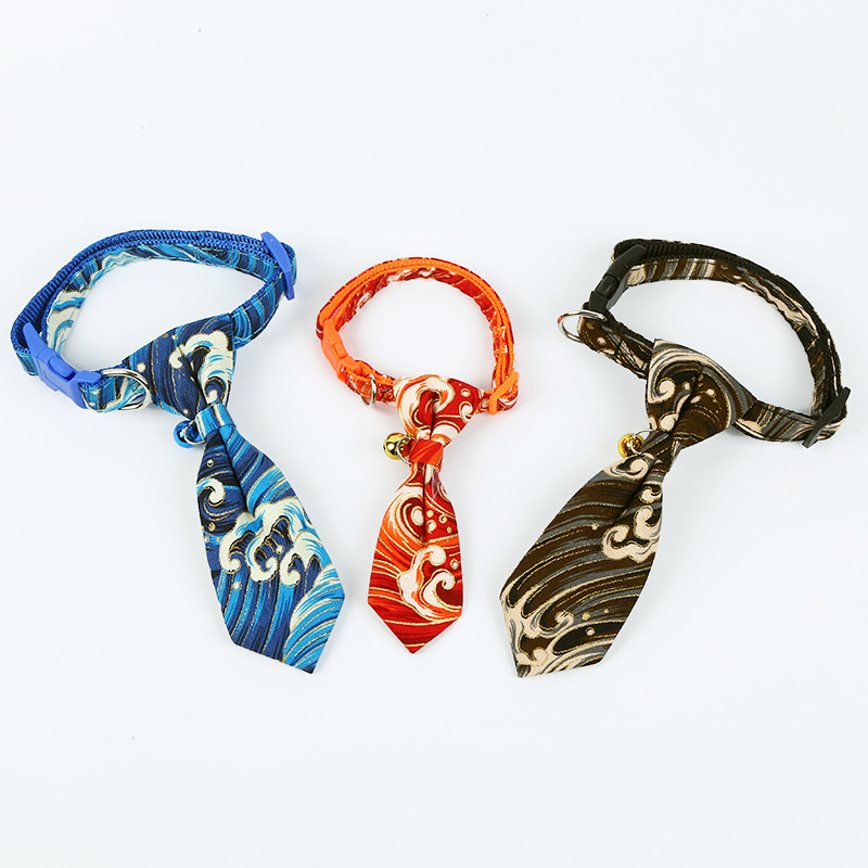New Style Pet Collar Small And Medium-sized Dogs Dog Collar Tie Cute Creative Traction Neck Ring