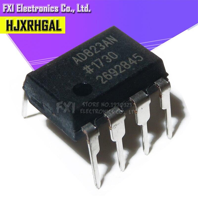 2PCS AD823ANZ AD823 DIP8 DIP Dual, 16 MHz, Rail-to-Rail FET Input Amplifier AD823AN New Original
