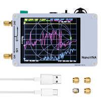 Nano Vector Network Analyzer Handheld 50KHz-900MHz Digital Display Shortwave MF HF VHF UHF Antenna Analyzer Standing Wave