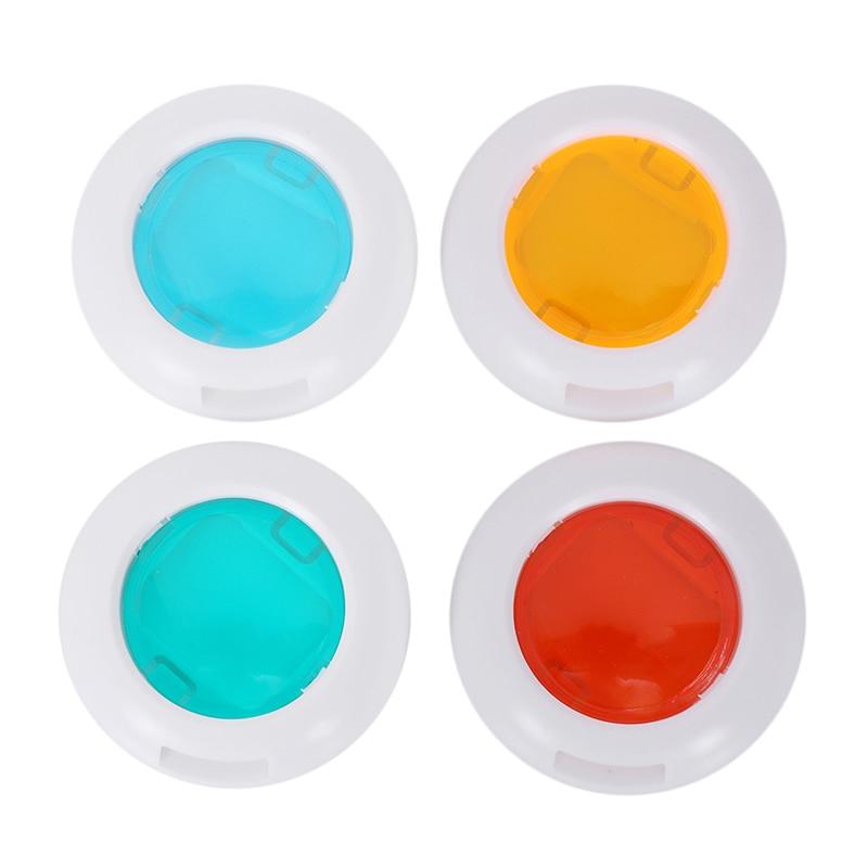 Lente de filtro de colores 4 colores Close Up para cámara de película Fujifilm Instax Mini 8 7s 5 M/10 M impermeable PVC Auto adhesivo papel pintado cocina luz de pared para baño pegatinas azulejos pegatina mosaico patrón película decorativa