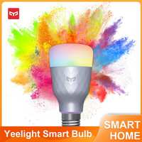 Yeelight-bombilla LED inteligente 1S, lámpara colorida de 800 lúmenes, E27, para Apple Homekit, aplicación mihome, asistente de Google