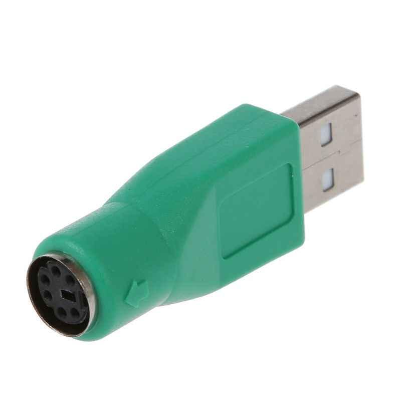 Convertidor adaptador PS / 2 hembra a USB macho para teclado ratón