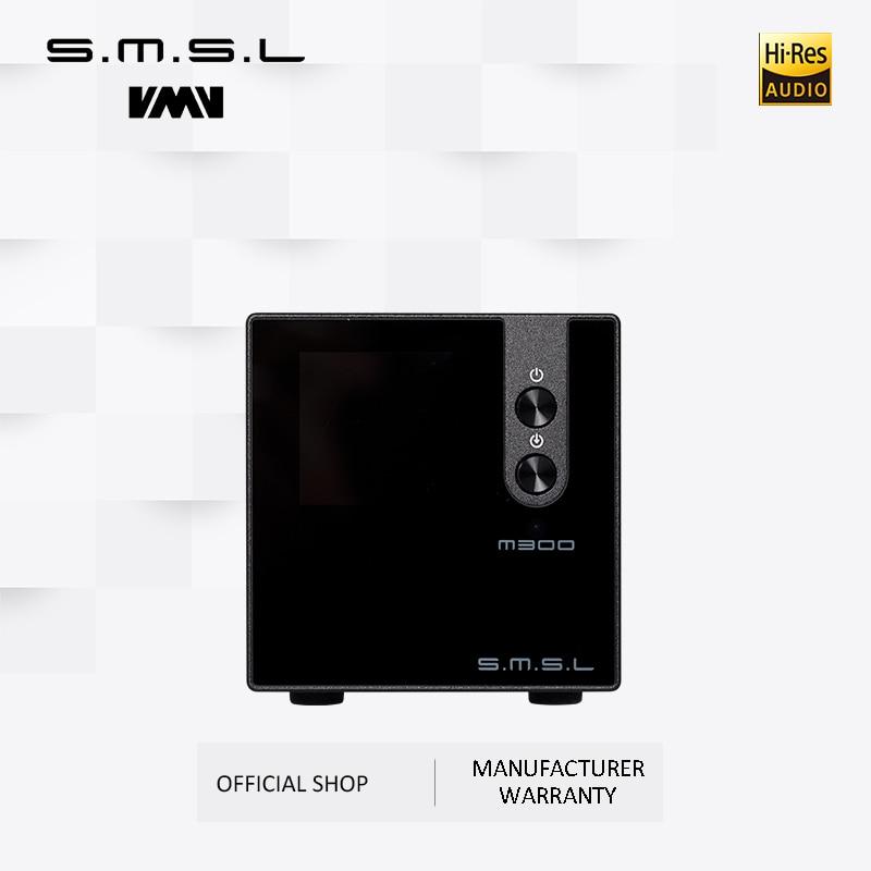 New Version SMSL M300 MKII Audio DAC AK4497 Native DSD512 PCM768kHz USB Optical Coaxial Bluetooth 5.0 Input Balanced Line Output