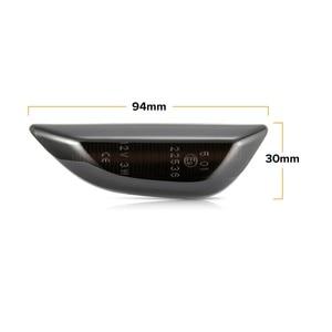 Image 4 - 2pcs Led דינמי צד מרקר אור סדרתית נצנץ Turn אות אור לאופל מוקה עבור אופל מוקה X עבור שברולט Trax