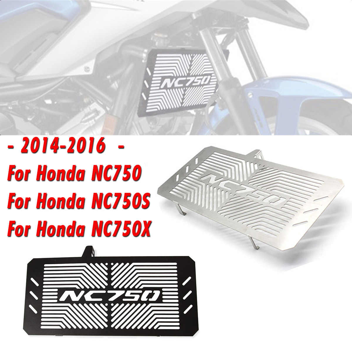 Stainless Steel Motorcycle Radiator Guard Protector Grille Grill Cover For HONDA NC750 NC750S NC750X NC 750S/X 2014 2015 2016