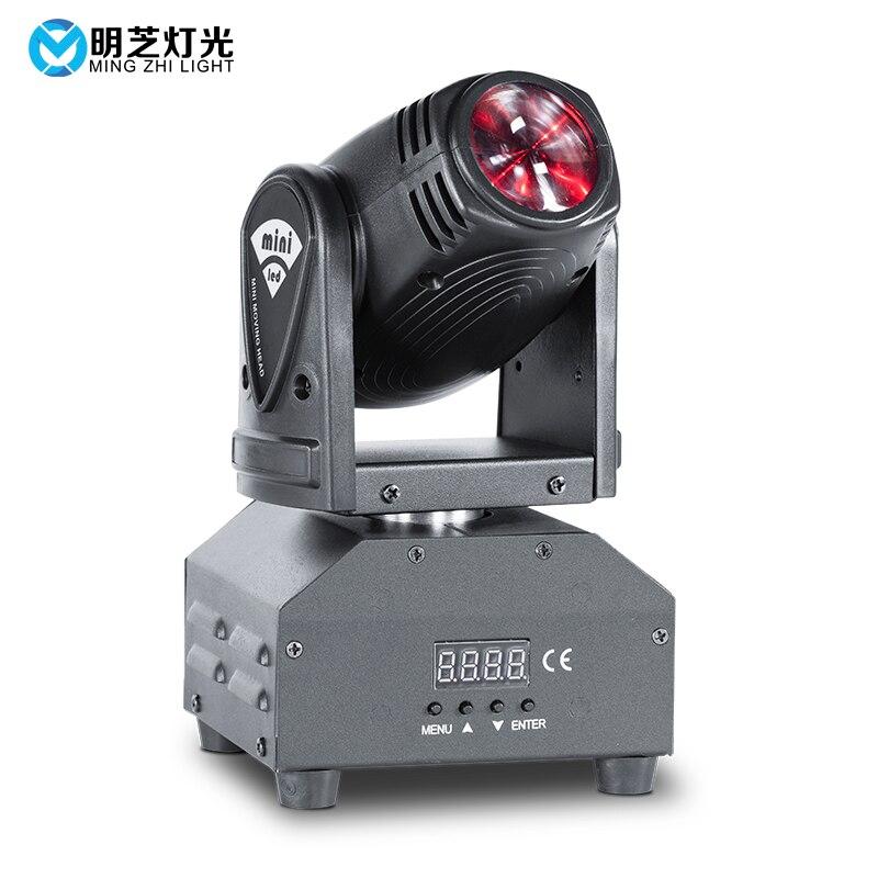 Mingzhi RGBW LED 10W Mini Moving Head Beam Lights LED Strong Beam Light For Party Disco DJ Light