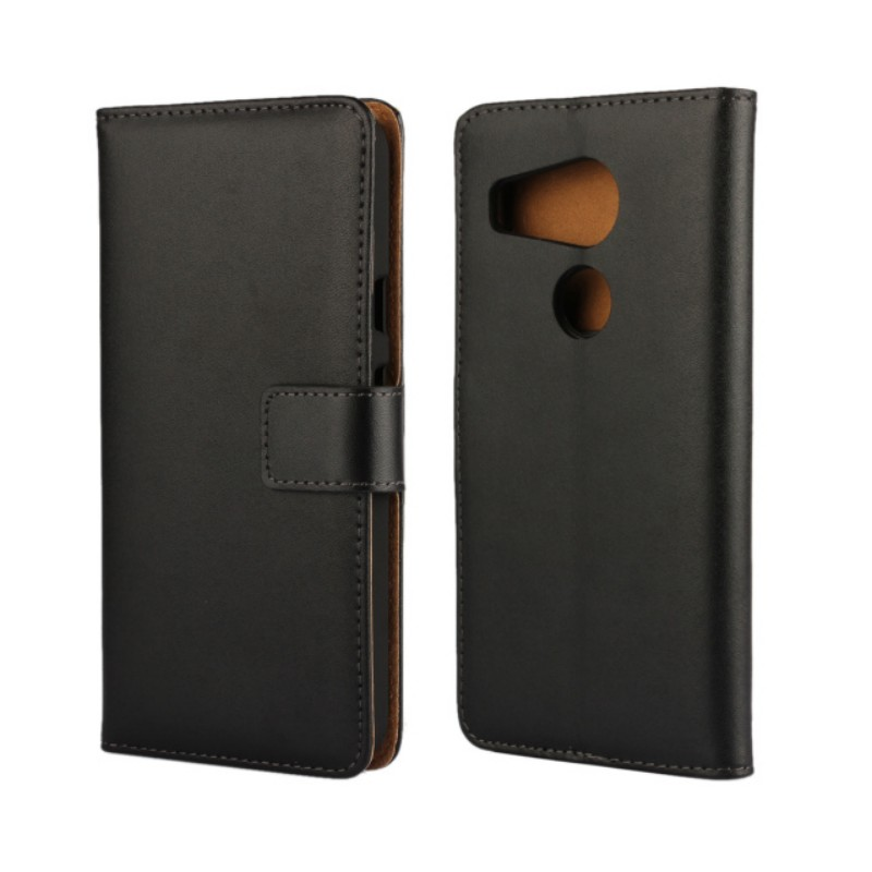 OEEKOI Genuine Leather Wallet Flip Cover Case for LG Nexus 5X G Flex 2 L4 II with Stand Holder Drop Shipping