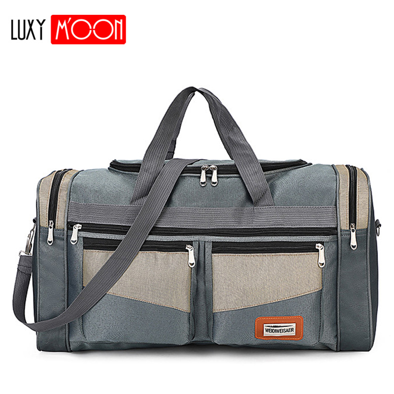 Travel-Bag Weekend-Bag Bag Nylon Luggage-Bags Carry Large-Capacity Portable Fashion Women