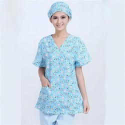 Хирургический костюм мультфильм собака медицинская форма костюм медсестры лабораторный халат медицинская форма Женские аксессуары