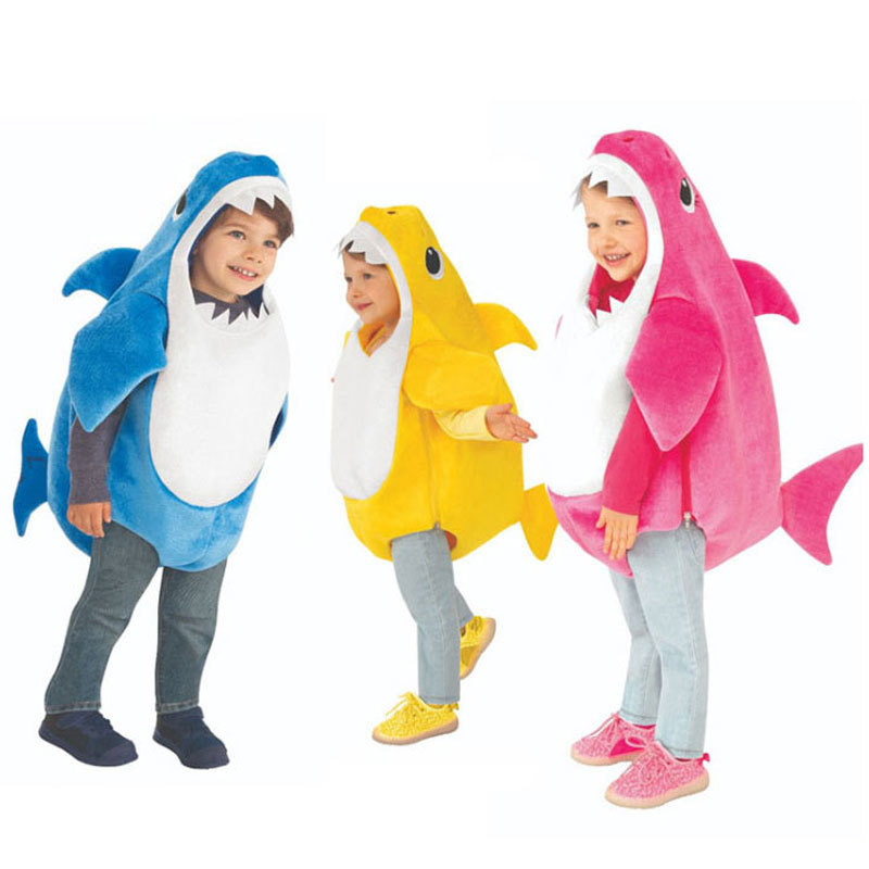 New Arrival Unisex Toddler Family Shark Kids Halloween 3 Colors Cosplay Baby Costumes| | - AliExpress