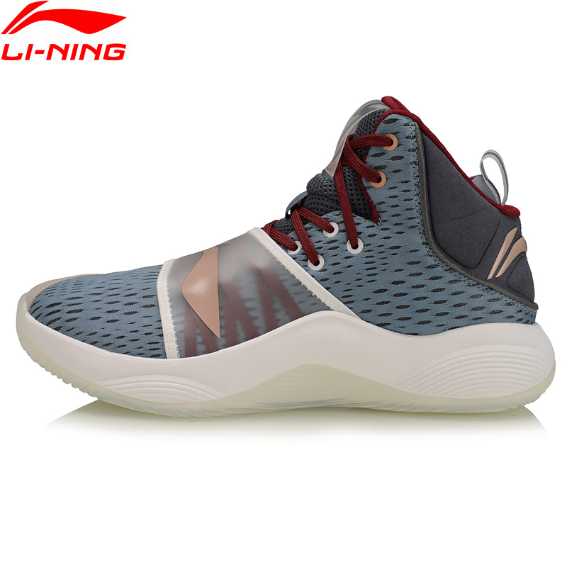 Li-Ning Men LANIATE On Court Basketball Shoes Hook & Loop Support Sneakers Dynamic Shell LiNing Sport Shoes ABPP015 XYL288
