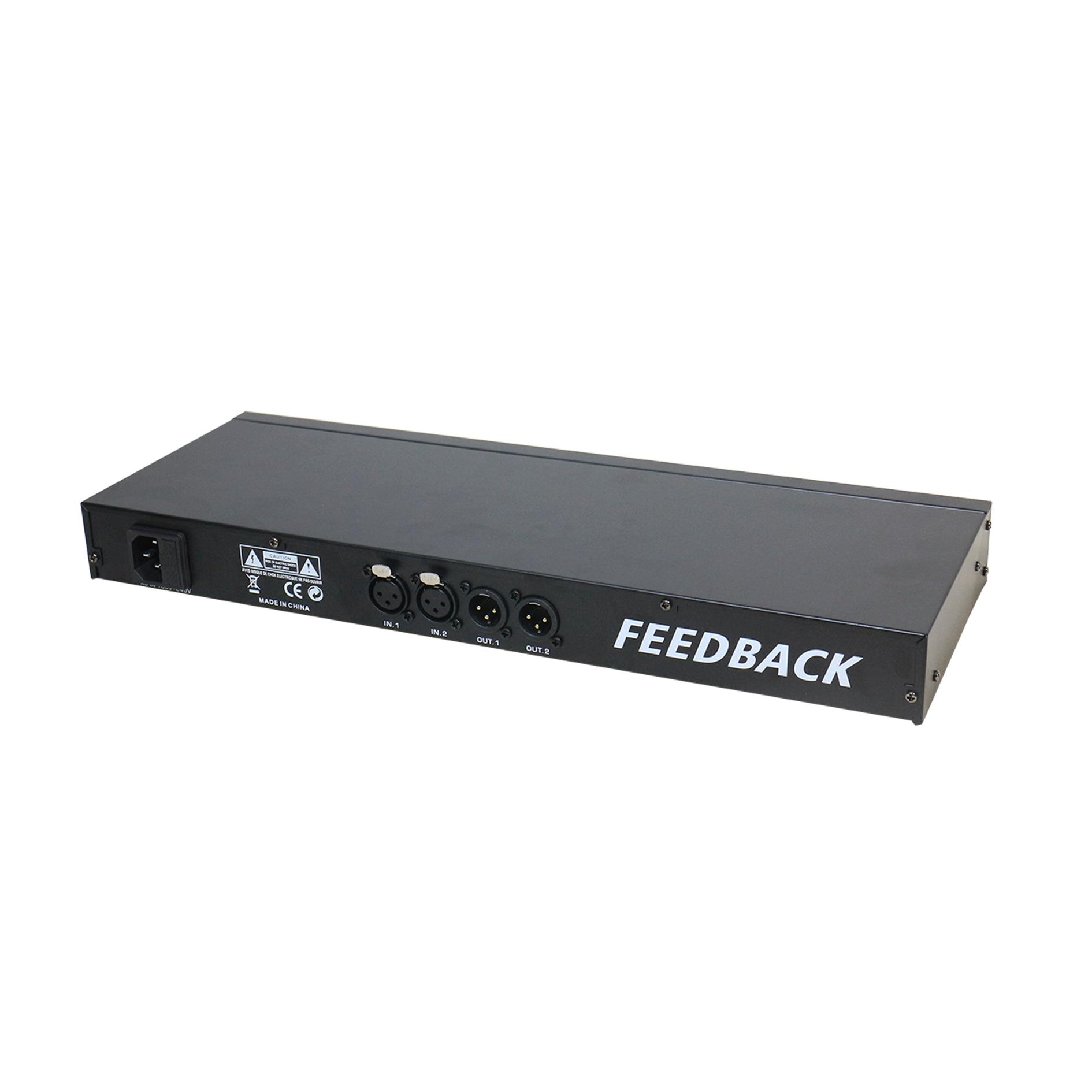 Microphone Anti-howling Digital Feedback Suppressor Karaoke Reverb Professional stage audio Feedback Audio Mixing Processor