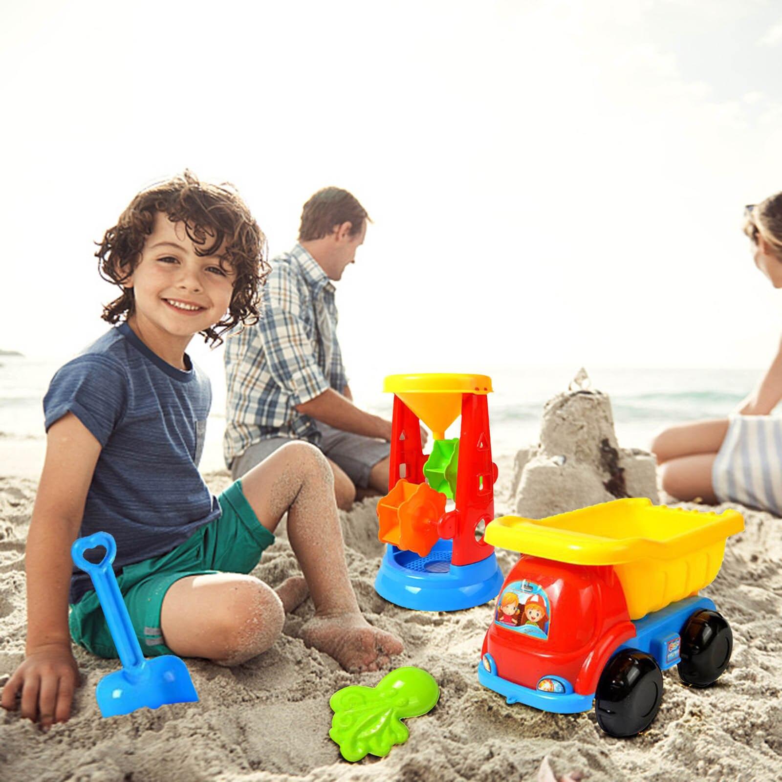 11 Piece Beach Toy For Kids Baby Sand Set Sand Play Sandpit Toy Summer Outdoor Toy Children Sandbox Set Kit