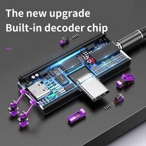 Image 5 - Baseus L57 USB Typ c Adapter usb c zu 3,5mm aux Kopfhörer Kopfhörer adapter mit PD 18W Schnell lade für typ c Jack Telefon