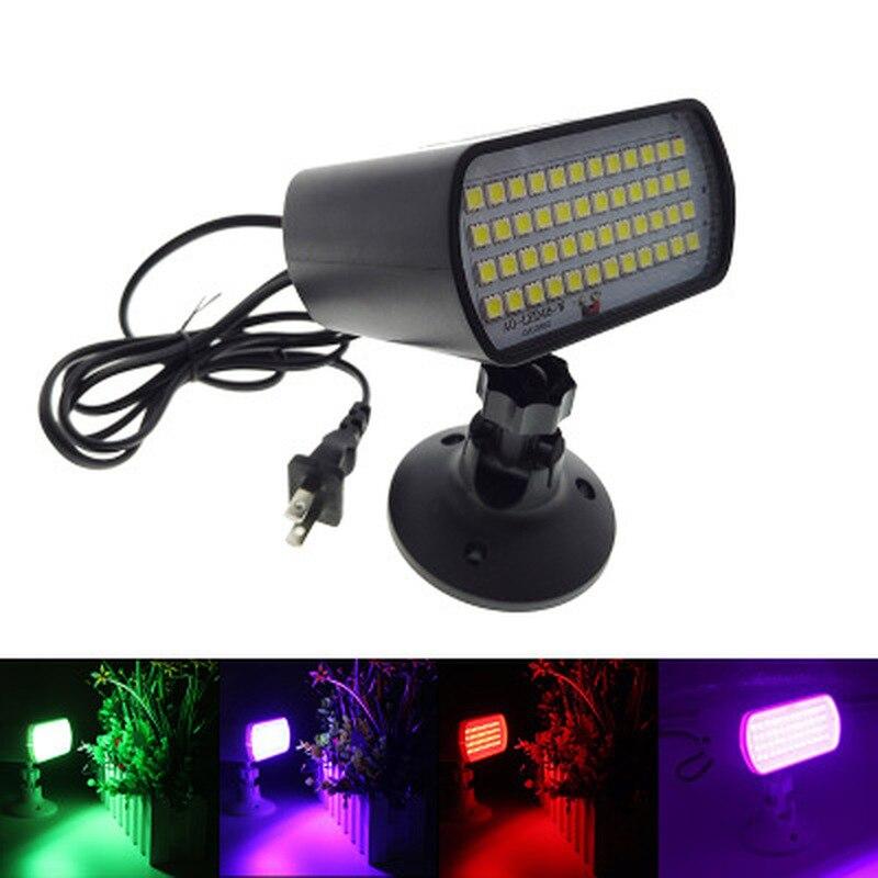 Креативный 48 светодиодный стробоскоп сценические огни отдельная комната КТВ мини-лампы для сцены со звуковым управлением бар атмосферные