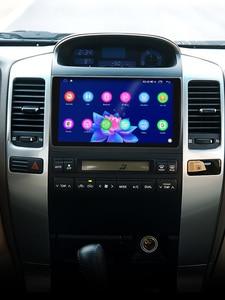 "Image 2 - 9 ""Android10รถวิทยุสำหรับToyota Land Cruiser Prado 120/Lexus GX470 2004 2009 GPS Carplay Android Auto DSP SPDIFซับวูฟเฟอร์DAB"