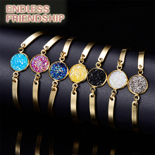 Shiny Rhinestone Style Women Bracelet Gold Friendship Chain Link Cuff Bracelets Female цена 2017