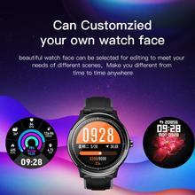 SN80 Смарт-часы IP68 Водонепроницаемый Полный сенсорный смарт-часы пульсометр дисплей кровяное давление фитнес-трек спортивные