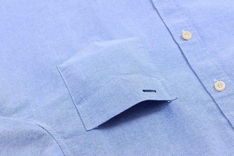 H6275a5accd554452839c7b7bdf250db3g Men's Summer Pure Cotton Oxford Shirts Casual Slim Fit Design Short Sleeve Fashion Male Blouse Shirt