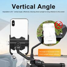 Aluminum alloy  mobile phone frame battery car electric motorcycle bicycle riding fixed navigation mobile phone bracket 30JP07 mountain bike bicycle mobile phone frame motorcycle riding navigation bracket electric car takeaway mobile phone holder