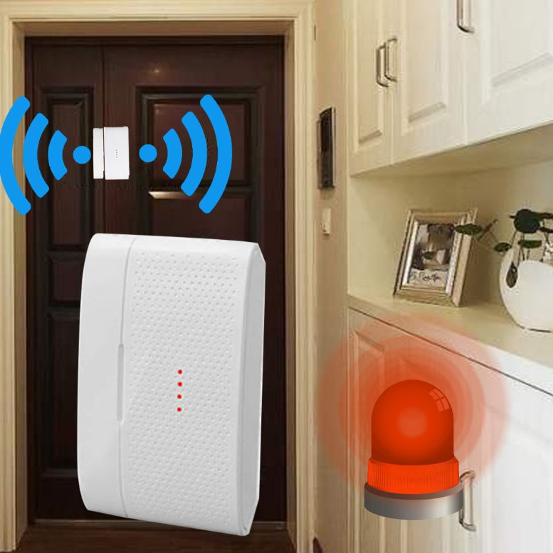 433MHZ Transmission Frequency Wireless Window Door Sensor WiFi Magnetic Detector Home Smart Alarm System