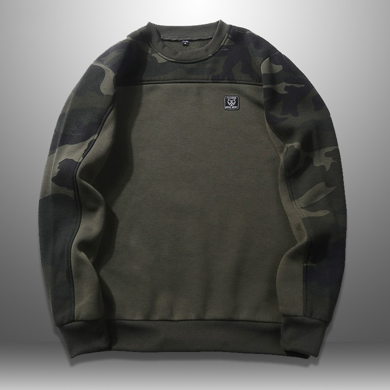 Camouflage Sweatshirt Men Autumn Spring Mens Hoodies Military Style Fashion Long Sleeve Pullover Man Sudaderas Para Hombre 2020