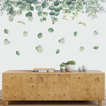 Mural Wall-Decal Bedroom-Decoration Foliage-Leaves Nursery Living-Room PVC for Removable