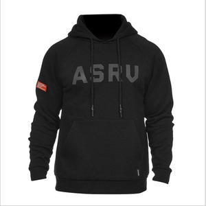 Autumn Winter Men Hooded Sweatshirts Letter Cotton Gyms Fitness Hooded Jacket Men's long Sleeves Sportswear Brand Hoodies(China)
