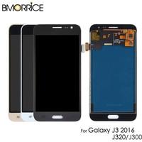 Wyświetlacz LCD do Samsung Galaxy J3 2016 J320/J3 2015 J300 J320A J320F J320M J320FN ekran dotykowy Digitizer zgromadzenia dostosować w Ekrany LCD do tel. komórkowych od Telefony komórkowe i telekomunikacja na