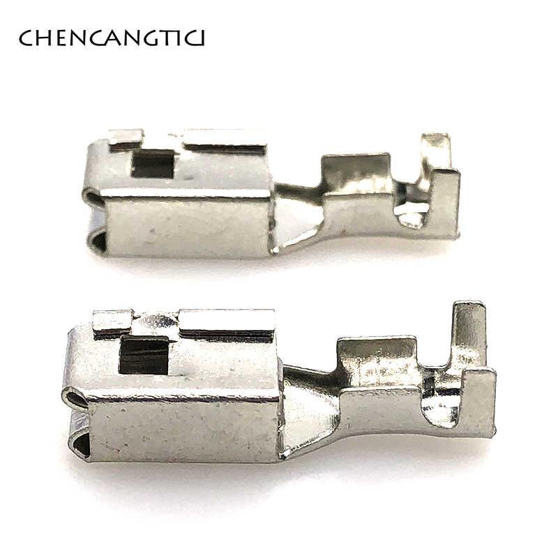20 pieces pcs 6.3 mm auto car splices wire terminal G211 crimp loose pins  terminals Fuse box metal pins for automotive connector| | - AliExpress