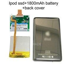 Novo ssd 32g 64g 128g 256g 512g 1 tb para ipod clássico 7gen 7th 160 gb ipod vídeo 5th substituir mk3008gah mk8010gah mk1634gal ipod hdd