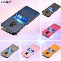 Kreditkarte Fall Für Xiaomi Redmi Hinweis 9S 9 8 Pro 10X 4G Vintage PU Leder Brieftasche Fall für Redmi Hinweis 8 9 Pro Max 10X 4G Funda