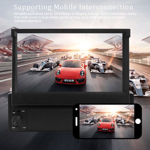 Image 5 - Podofo Radio Multimedia con GPS para coche, Radio con reproductor, Android, 1 Din, pantalla táctil de 7 pulgadas, navegación GPS, Wifi, Audio estéreo, Universal