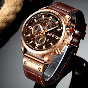 Image 5 - DOOBO Luxury Brand Men Analog Leather Sports Watches Mens Army Military Watch Male Date Quartz Clock Relogio Masculino D042