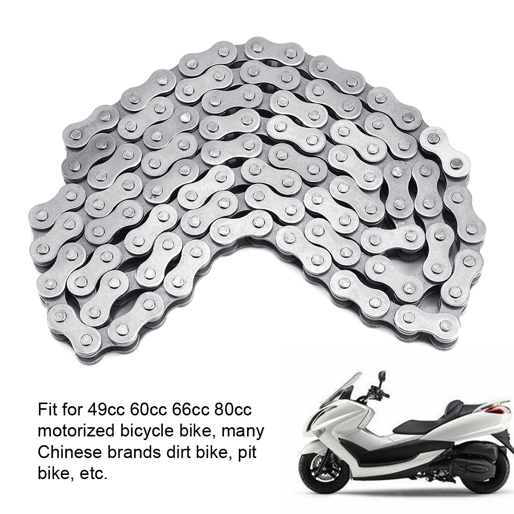 Strengthen 415-110L Chain For 49cc 60cc 66cc 80cc 2-Stroke Engine Motorized Bicycle Bike 415 110L D20