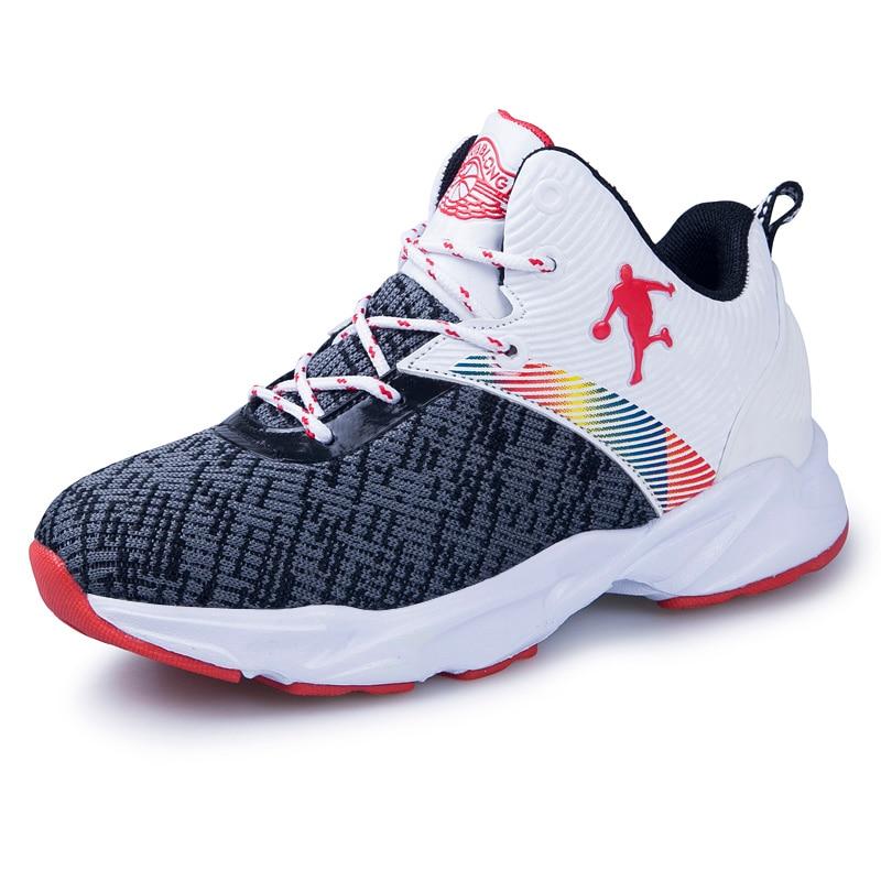 New High-top Jordan Basketball Shoes Cushioning Jordan Shoes Kids ...
